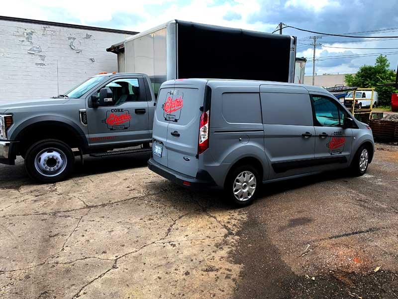 Core Electric Vans